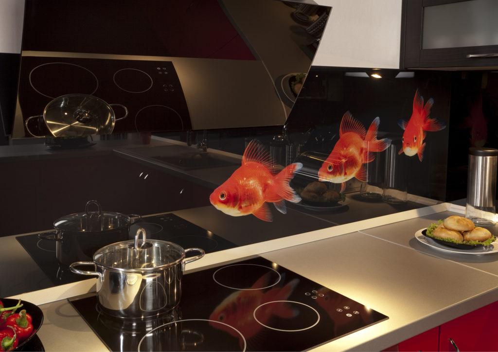 lakierowanie szkla, kuchnia z lakierowanym szklem, szklane panele, szklane tafle i uslugi szklarskie Przeźmierowo, Duszniki, Wilczyna